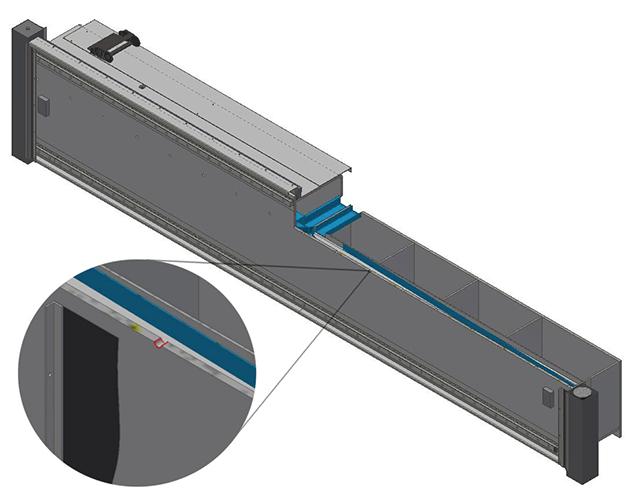 Patentiertes Überdrucksystem