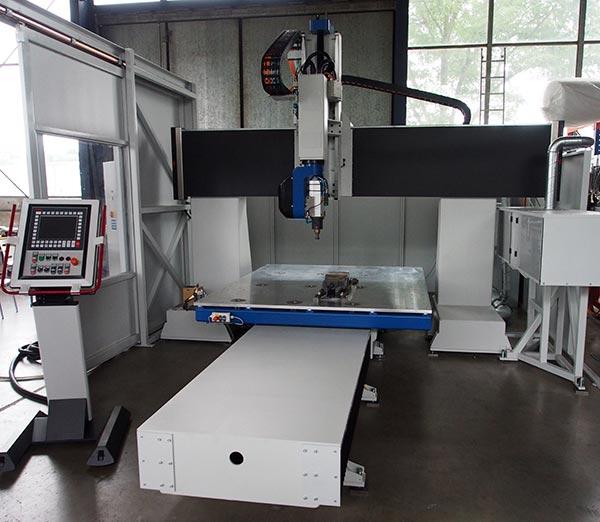 Moba P5 Single - CNC Bearbeitungszentrum