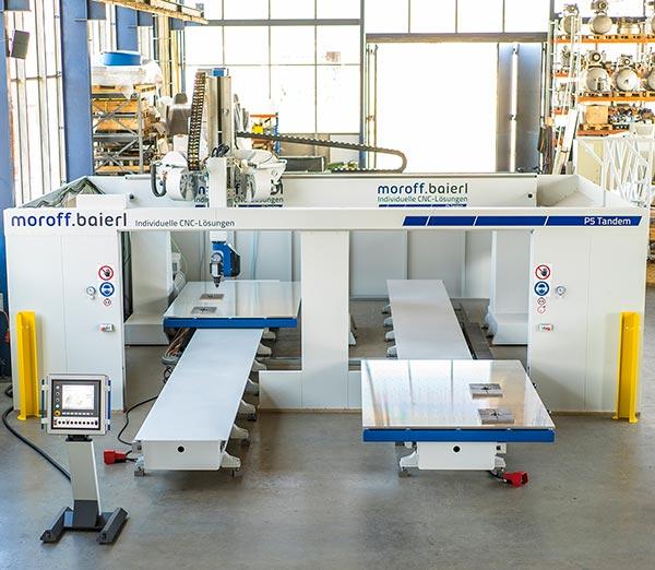 Moba P5 Tandem - CNC Bearbeitungszentrum